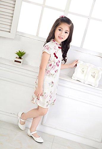 Girl Chic Qipao Child Cheongsam chino Vestido Acvip patr vqx6PA5a