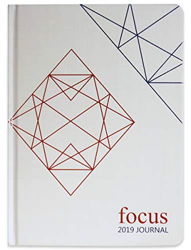 Focus Journal - 2019 Planner for Goal and Life - Weekly, Monthly and Yearly Planner - Calendar, Day Organizer Planner