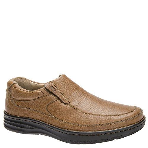 Drew Shoe Men's Bexley Loafers, Tan Leather, Polyurethane, 8 ()