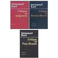 Three Critiques, 3-volume Set: Vol. 1: Critique of Pure Reason; Vol. 2: Critique of Practical Reason; Vol. 3: Critique of Judgment: WITH Critique of Practical Reason