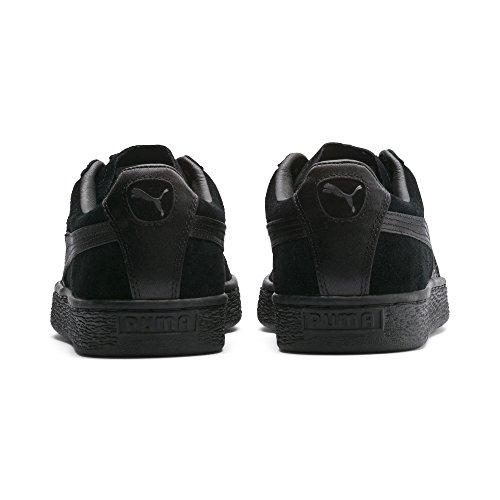 Noir Wn's Basses Suede Puma Femme Satin Classic Sneakers aznFtW0R6