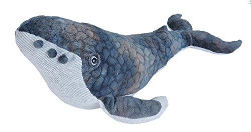 Wild Republic Humpback Whale Plush, Stuffed Animal, Plush Toy, Gifts for Kids, Cuddlekins 20 Inches (Wild Republic Humpback Whale)