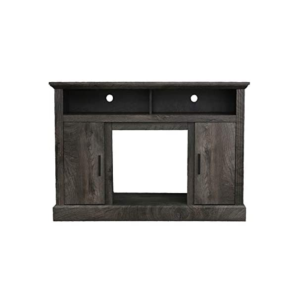 """VACA KEY 47"""" Wide Electric Fireplace TV Stand Console for TVs up to 55"""",for Living Room(Grey)"""