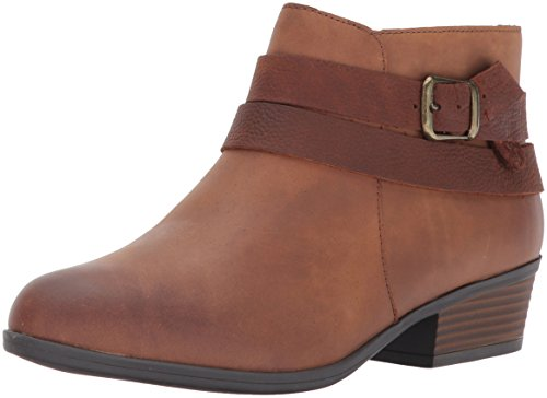 Clarks Women's Addiy Cora Ankle Bootie,Tan,6 M US (Women Ankle Clarks Boots)