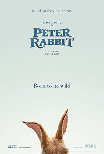 Peter Rabbit Movie Poster 18 x 28 Inches