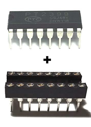PTC PT2399 Echo Audio Processor Guitar IC DIP-16 + Dip Sockets (Pack of - Effect Pt2399 Pedal