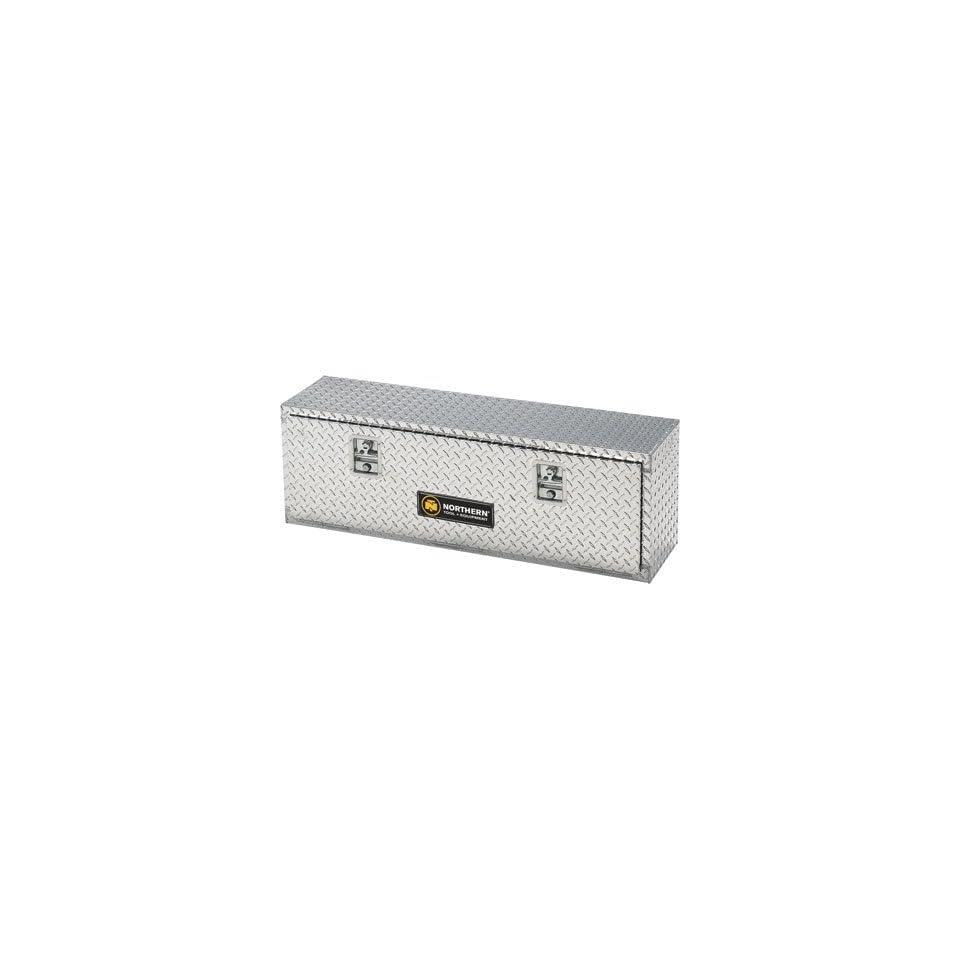 Aluminum Top Mount Truck Box   Diamond Plate, 96in.L x 12 3/4in.W x 16in.H