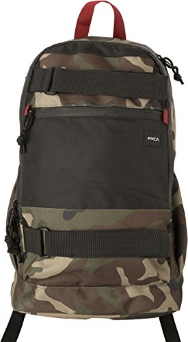 RVCA Unisex Push Skate Delux Backpack, Camo, One Size (Skate Pack)