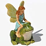 Cheap Minaiture Fairy Garden Hopping a Ride