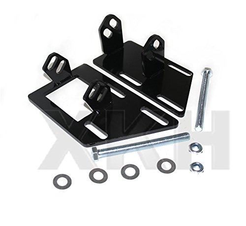 XKH- Compatible with 1983-2005 S-10 S15 Blazer Jimmy Sonoma V8 SBC 350 Conversion Motor Mounts [B07BDDMRXJ]