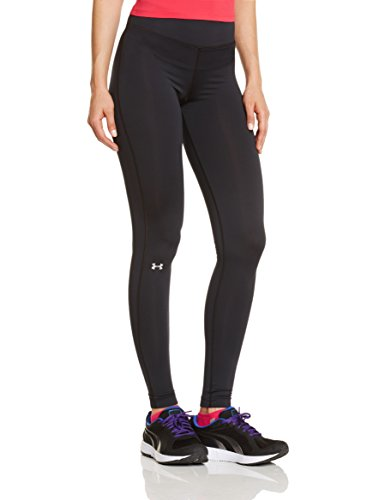 Under Armour Damen Fitness - Hose und Shorts UA Authentic CG Leggings, Black, M