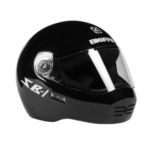 Steelbird SB-01 Dashing Full Face Helmet (Black, L)