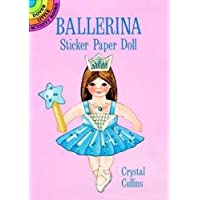 Ballerina Sticker Paper Doll (Dover Little Activity Books Paper Dolls)