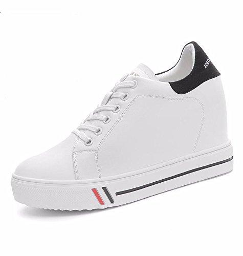 Étanches Thirty Salon five Type Peu KHSKX Le Une Des Chaussures Chaussures Ronde Tête De Nouveau Et D'Aide Femmes Bouche De Chaussures waZxfHRa