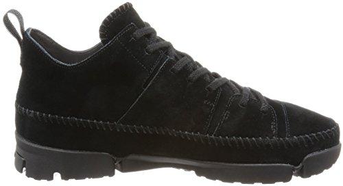 Clarks Originals Détente Homme Chaussures Trigenicdrygtx En Daim Noir Taille 43