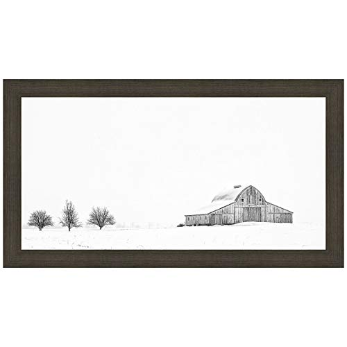 Black Forest Decor Three Apple Trees Framed Print ()