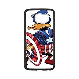 Donald Duck Samsung Galaxy S6 Cell Phone Case Black Gift pjz003_3408531