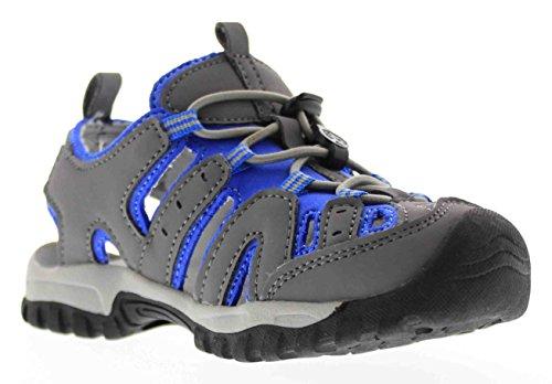 Northside Burke II Athletic Sandal Gray/Blue 1 M US Little Kid - Image 6