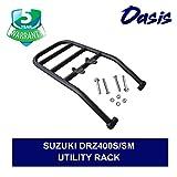 Oasis Rear Luggage Utility Rack - Compatible With Suzuki DRZ400S/SM (2000-2019) - 5 Years Warranty