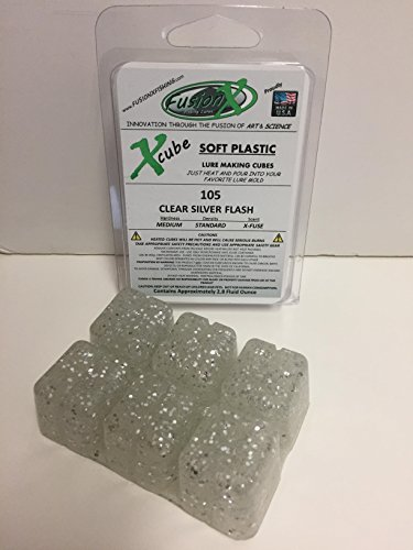 FUSION X FISHING - Xcube Soft Plastic Plastisol Fishing for sale  Delivered anywhere in USA