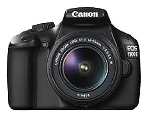 Canon EOS 1100D - Cámara Réflex Digital 12.2 MP (Kit + 18-55 DC + 75-300 DC) (importado)
