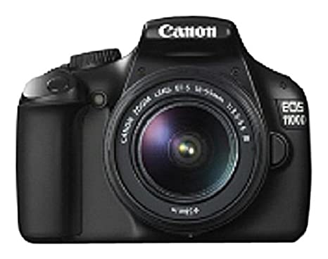 Canon EOS 1100D - Cámara Réflex Digital 12.2 MP (Kit + 18-55 DC + ...