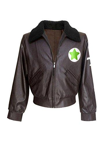 DAZCOS Unisex Axis Powers Hetalia America Cosplay Jacket Chocolate (Women Medium)