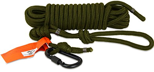 Tree Spider Safety Line Reflective Harness, Olive by TREE SPIDER (Image #1)