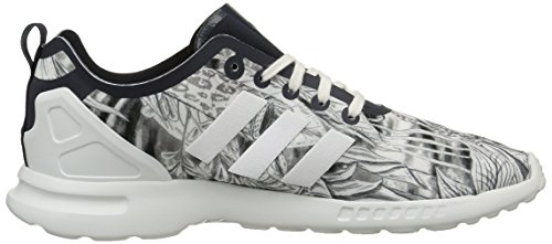 para Ink de ZX Flux Running Core Ink Adidas Smooth W Blanc Blanco White Legend Legend S10 Mujer Zapatillas S10 Aw0qw7xX