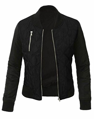 XQS Women Classic Style Zip Up Biker Vintage Jacket for sale  Delivered anywhere in USA
