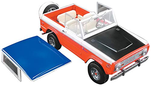 (1971 Ford Baja Bronco Stroppe Limited Edition to 714 Pieces Worldwide 1/18 Diecast Model Car by Greenlight for Acme 51173)