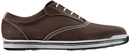 FootJoy Contour Casual Spikeless Golf Shoes 2017 Dark Brown Medium (Contour Golf Shoes)