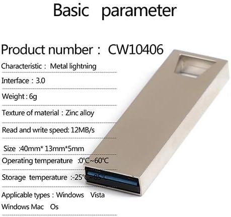 8GB USB Stick High Speed U Flash Drive High Capacity Metal 3.0 Memory Stick MADELEINE PRESTON USB Memory Stick