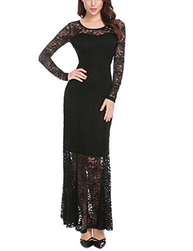 long black goth dresses - 4