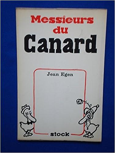 Livre Messieurs du canard pdf, epub