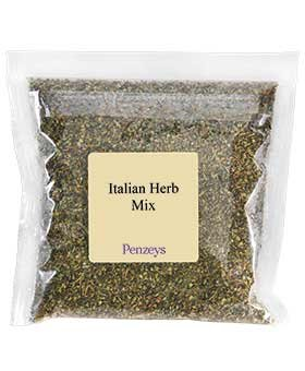 Italian Herb Mix By Penzeys Spices 4.4 oz 3 cup bag Salted Salad
