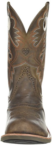 Ariat Womens Heritage Roughstock Performance Anticato Marrone
