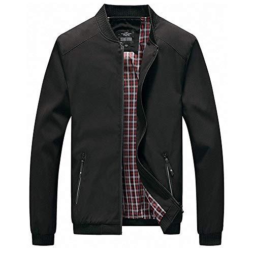 (sandbank Men's Casual Jacket Lightweight Water-Resistant Full Zip)