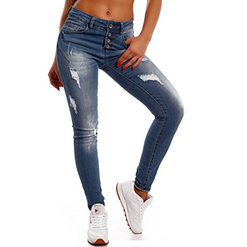 Jeans Young fashion Donna Skinny Blu Basic z8vqRw