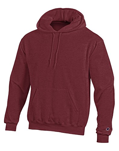 Direct Hooded Pullover - Champion Adult Pullover Hooded Sweatshirt, Maroon, Medium