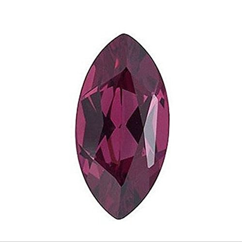 Natural 2.65 Carats 14X7 MM AAA Rhodolite Marquise-Cut (1 PC) Loose Gemstone