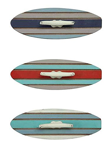 Wood-and-Metal-Surfboard-Wall-Hooks-Beach-Decor-Set-of-Three