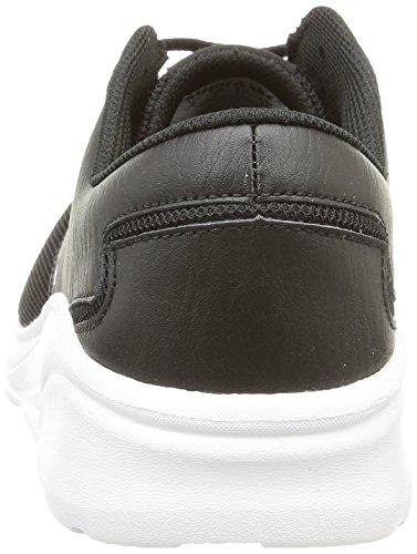 Supra Donna / Uomo Noiz Sneaker In Pelle Nera / Bianca