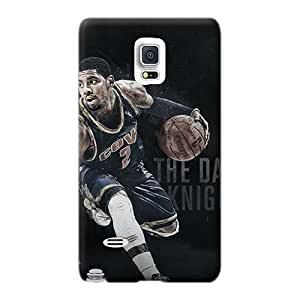 Protective Hard Cell-phone Case For Samsung Galaxy Note 4 (YWt16383lhFZ) Unique Design Nice Kyrie Irving Pictures