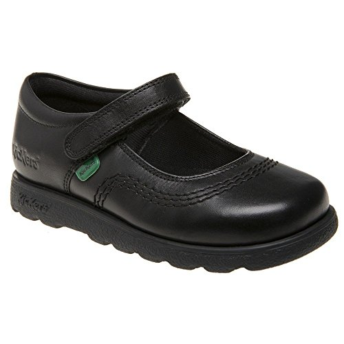 Kickers Girl's Fragma Pop Shoe 8 Infant Black