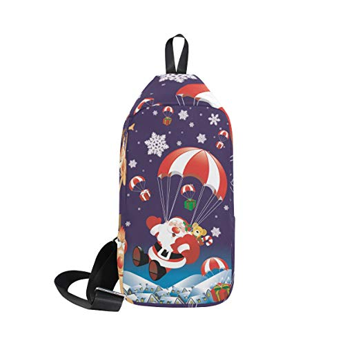 Women Bennigiry For Bag Backpack Shoulder Bags amp; Santa Men Chest Sling Parachute Crossbody One rwqOZrvxn