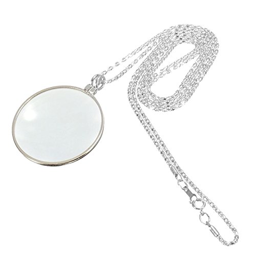 5X Magnifying Glass Pendant 1.6