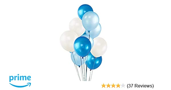 White Dark Blue Light Blue Balloons Valentines Day Party Decorations Helium Balloons Thick Latex Balloon For Carnival Festival Birthday