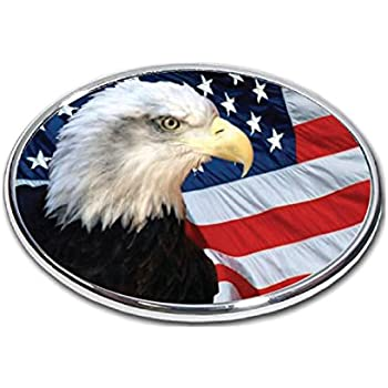 FabProductsRus.com American Flag Rose Trailer Hitch Cover 3//8 Inch Thick High Grade Aluminum Size Measures 4 x 6 2 Hitch Receiver