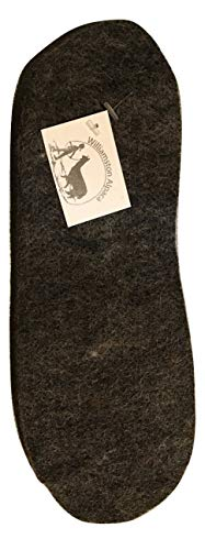 (Alpaca Wool Felted Insole Boot Liner Warm Cut to Fit (Medium))